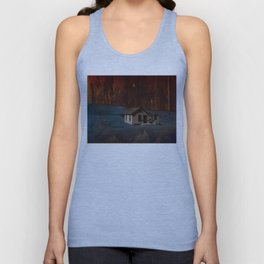 The Surface of Solitude-Hardship Unisex Tank Top