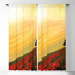 Super Bloom in Sun Blackout Curtain