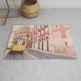 Lisbon Yellow Trolley Rug