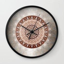 Mandala Gentleness Wall Clock