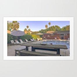 Califorina Hills Art Print