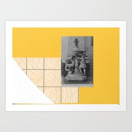 A vacation in rome II Art Print