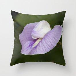 Butterfly Pea Flower Throw Pillow