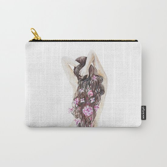Spring girl Carry-All Pouch