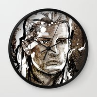 legolas Wall Clocks featuring Legolas by Patrick Scullin