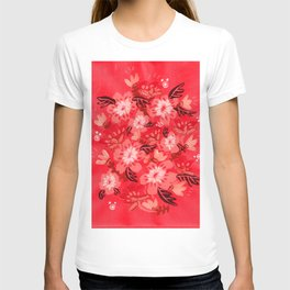 Cranberry Blooms T-shirt