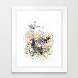 Jardin Framed Art Print