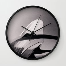 Paper Sculpture #2 Wall Clock