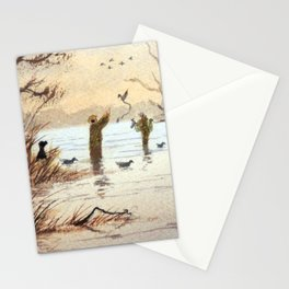 Setting The Decoys II Stationery Cards