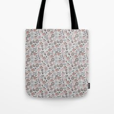 Hand Drawn Florals Tote Bag