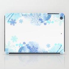 Snowflakes iPad Case