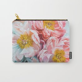 Peonyssimo Carry-All Pouch