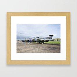 Buccaneer aircraft Framed Art Print