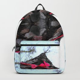 Marked with a Bow Backpack