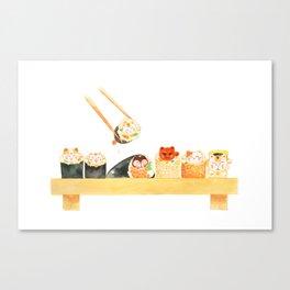 Maki Neko Canvas Print