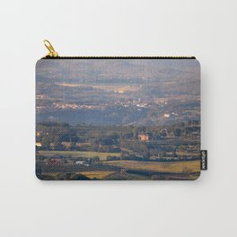 Italian countryside view Carry-All Pouch