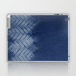 Shibori Chevron Stripe Laptop & iPad Skin