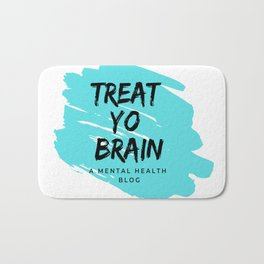 Treat Yo Brain Logo Bath Mat