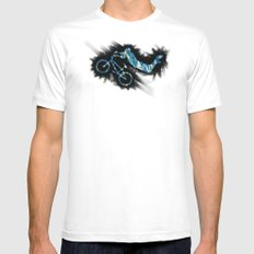 show bicycle Mens Fitted Tee White MEDIUM