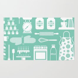 Baking Graphic Rug