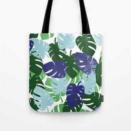 Palm Leaves Pattern Tote Bag