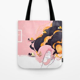 No Human #2 Tote Bag
