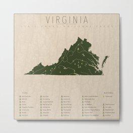 Virginia Parks Metal Print