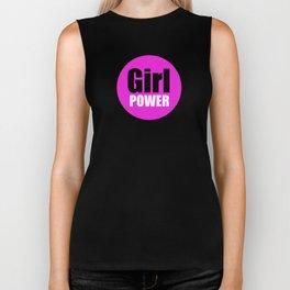 Girl POWER Biker Tank
