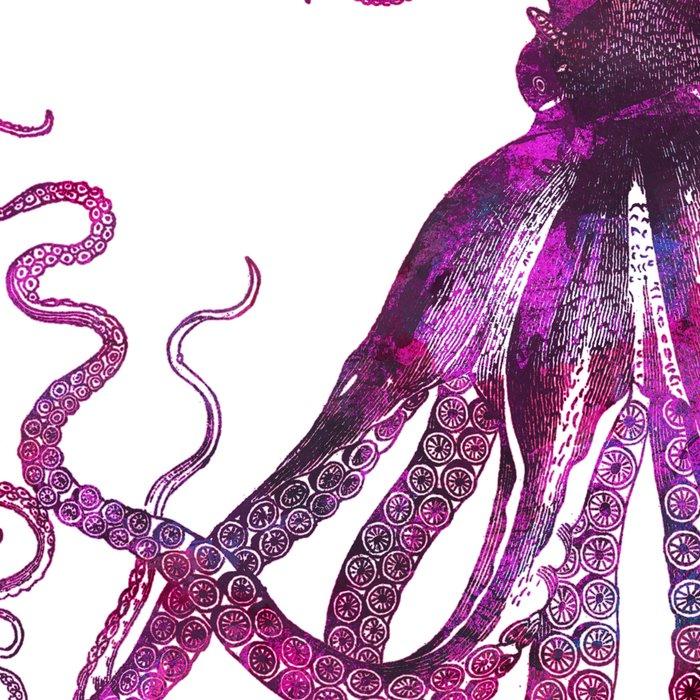 pink Octopus unique underwater creature Leggings