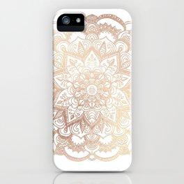 Mandala Gold Shine II iPhone Case
