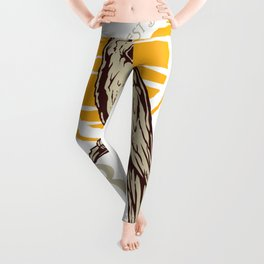 Tropical Bird Lover Leggings