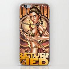 Slave Leia iPhone & iPod Skin