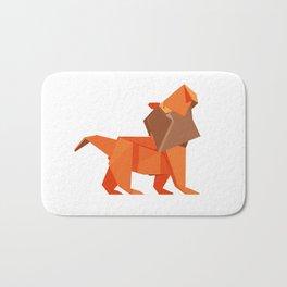 Origami Lion Bath Mat