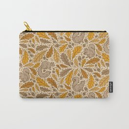 Oak & Squirrels | Autumn Yellows Palette Carry-All Pouch