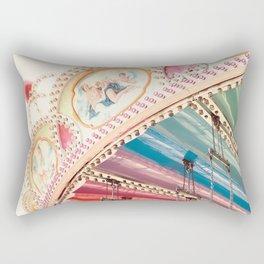 Flying Carousel 1 - Six Flags America Rectangular Pillow