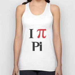 I Heart Pi Unisex Tank Top