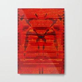 Maniphesto Metal Print