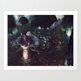 GODDESS OF LOVE Art Print