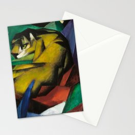 Franz Marc - The Tiger Stationery Cards