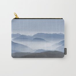 Blue Mountains in Dust - Photoadaption Carry-All Pouch