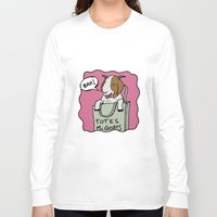 totes Long Sleeve T-shirts featuring Totes McGoats by This is 65