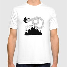 Mountain Swallow T-shirt