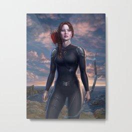 Katniss Metal Print