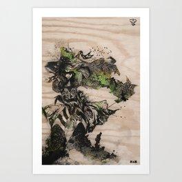 Three of A Perfect Pair Art Print