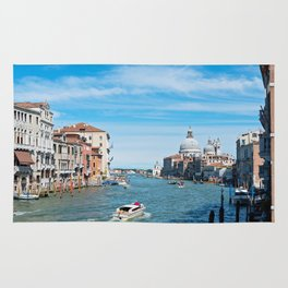 View from the bridge in Venice Rug