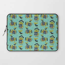 The Pickle Thief (Blue) Laptop Sleeve