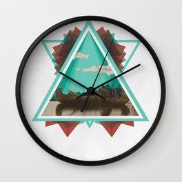 Native Exploration Wall Clock