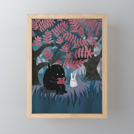 Another Quiet Spot Framed Mini Art Print