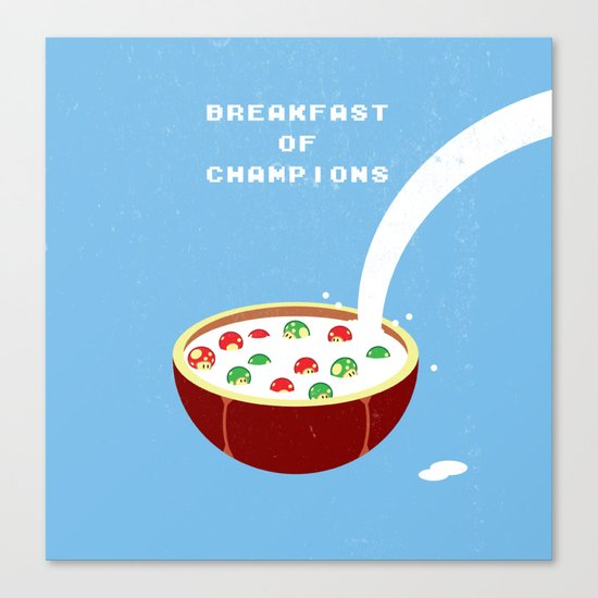 Breakfast of Champions Canvas Print