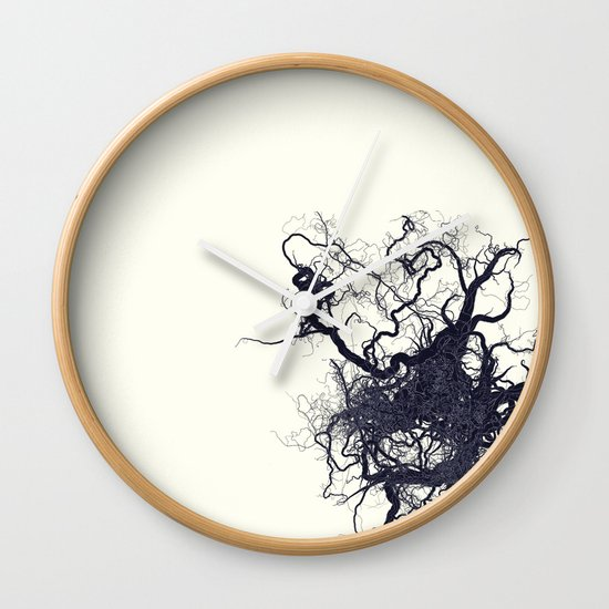 root Wall Clock
